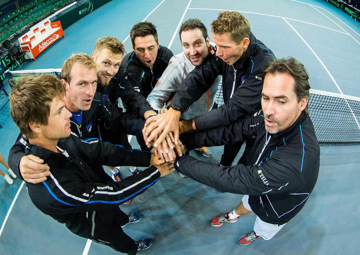 Il team sloveno di Coppa Davis