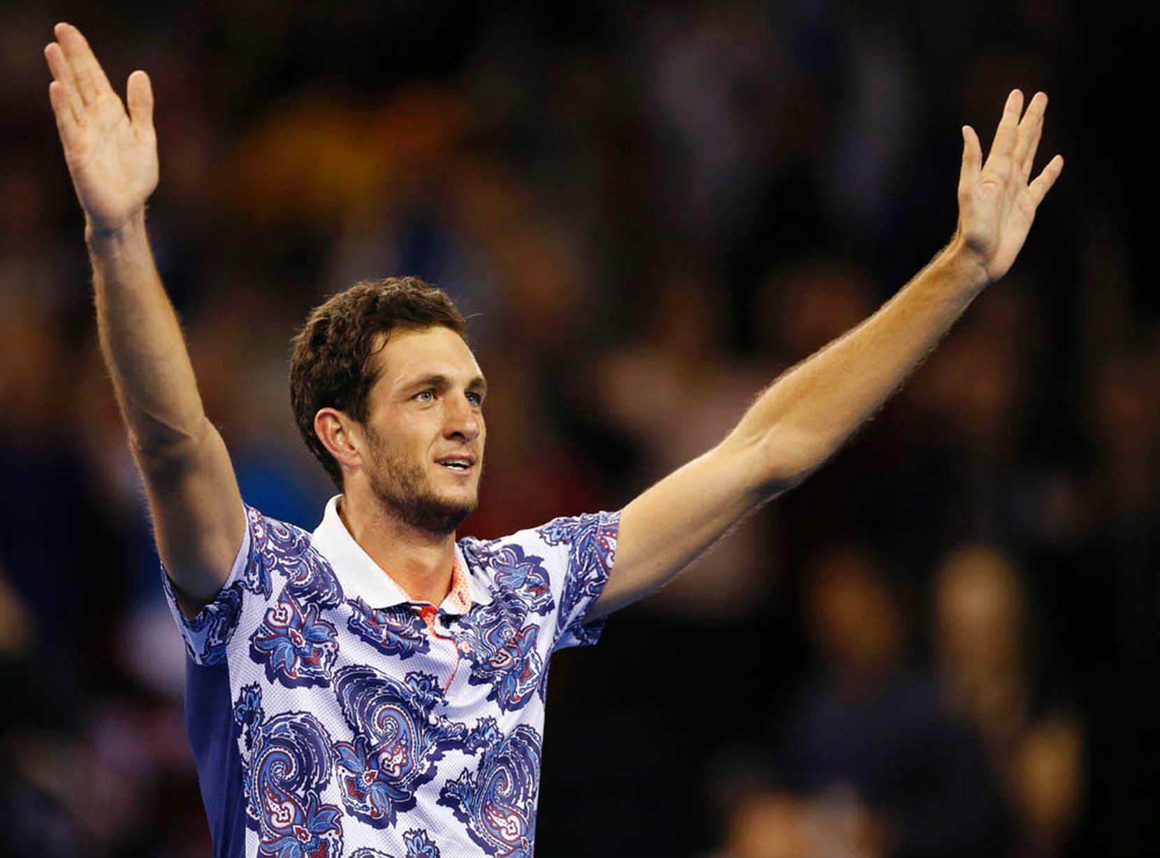 La vera sorpresa della Coppa Davis sono gli outfit di James Ward.