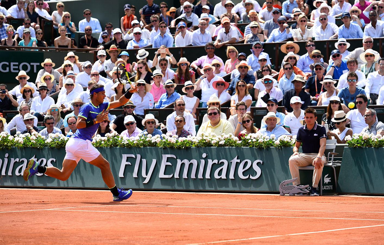 Il colpo più straordinario del tennis contemporaneo: il dritto di Rafael Nadal